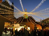 Mainzer Weihnachtsmarkt - einer der schönsten Weihnachtsmärkte Deutschlands. (Quelle: Landeshauptstadt Mainz)